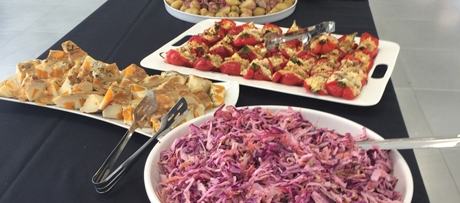 buffet style party catering in surrey