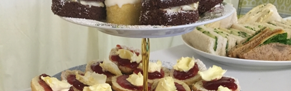 cakes & sandwiches - funeral catering surrey