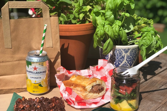 Summmer 2020 sample Picnic menus